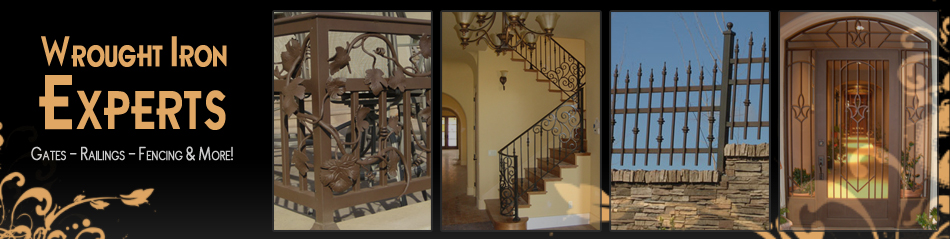 New Mexico Wrought Iron Fencing, Railings, & Gates